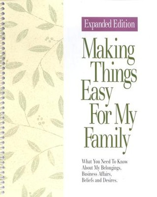 Making Things Easy for My Family   -
