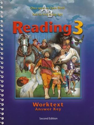 BJU Reading Grade 3, Worktext Teacher's Edition    -