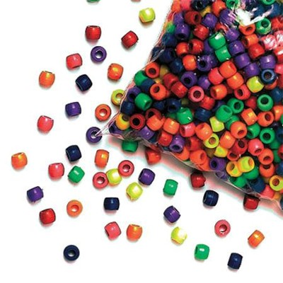 Splash Canyon VBS: Opaque Pony Beads (Approx. 2,000)  -