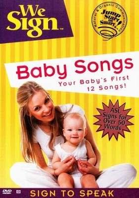 We Sign: Baby Songs DVD  -