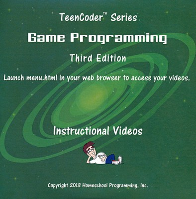 TeenCoder: Game Programming Supplemental Instructional DVD 3rd Edition  -