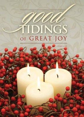 Good Tidings of Great Joy, Box of 12 Christmas Cards  -