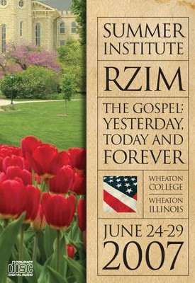 The Gospel: Yesterday, Today, and Forever - CD   -     By: Ravi Zacharias