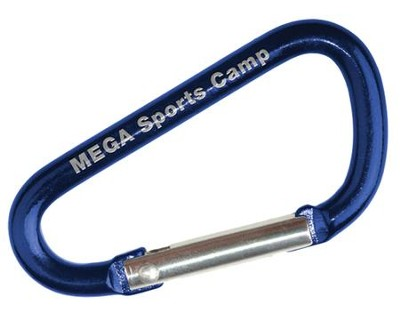 MEGA Sports Camp: Camp Carabiners, pack of 5   -