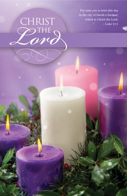 Christ The Lord (Luke 2:11) Advent Bulletins, 100  -
