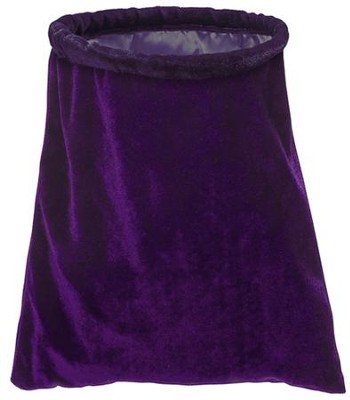 Purple Offering Collection Bag Replacement  -