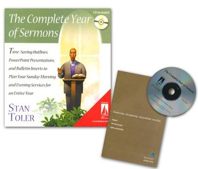 Complete Year of Sermons: Time Saving Outlines PowerPoint Presentations and Inserts Book & CD-ROM  -     By: Stan Toler