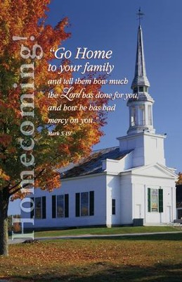 Go Home To Your Family (Mark 5:16-19, NIV) Bulletins, 100  -