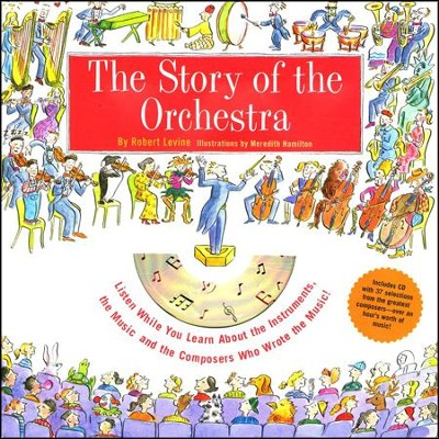 The Story of the Orchestra Book & CD   -     By: Robert Levine