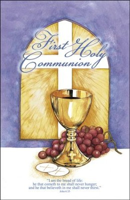 First Holy Communion, Bulletins, 100  -