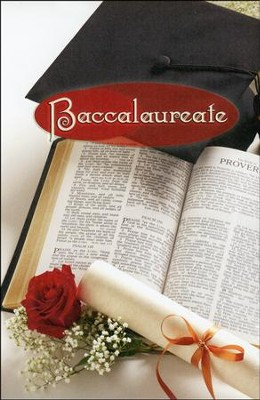 Baccalaureate Cap and Bible, Bulletins, 100  -