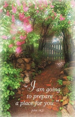 I Am Going To Prepare A Place For You (John 14:2) Bulletins, 100  -