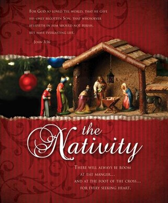 The Nativity (John 3:16) Large Bulletins, 100  -
