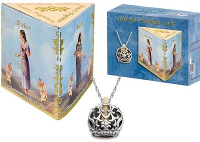Anointing Oil and Necklace Set: Esther  -