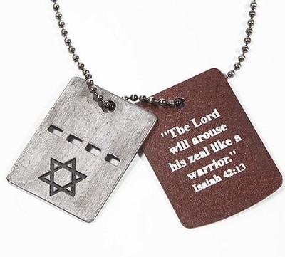 Star of David Dog Tags  -
