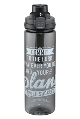 Your Plans Will Succeed, Water Bottle  -