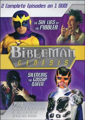 Bibleman Genesis: The Six Lies of the Fibbler /  Silencing the Gossip Queen, DVD  -