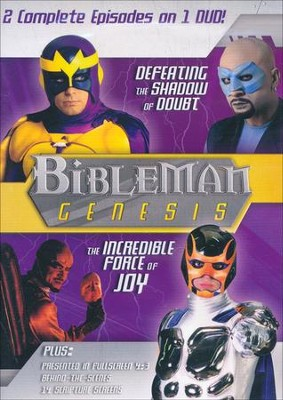 Bibleman Genesis: Defeating the Shadow of Doubt /  The Incredible Force of Joy, DVD  -