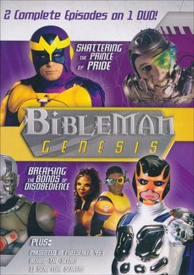 Bibleman Genesis: Shattering the Prince of Pride / Breaking the  Bonds of Disobedience, DVD  -