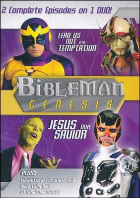 Bibleman Genesis: Lead Us Not Into Temptation / Jesus Our  Savior, DVD  -