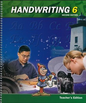BJU Handwriting 6, Teacher's Edition    -