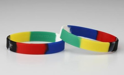 The Gospel Story by Colors--Silicone Bracelet   -