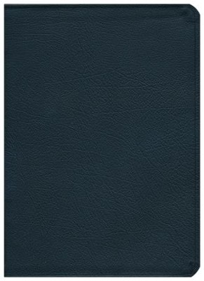 NASB MacArthur Study Bible  Black Bonded Leather  -