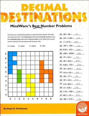Math Mosaics: Decimal Destinations  -