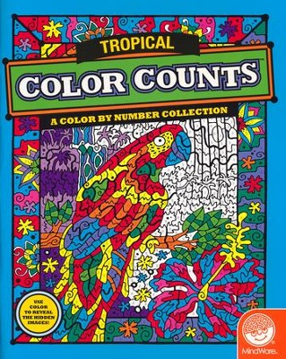 Color Counts: Tropical  -