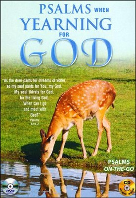 Psalms When Yearning for God: DVD & CD  -     By: David & The High Spirit