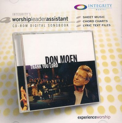 Thank You Lord Worship Leader Assistant  -     By: Don Moen