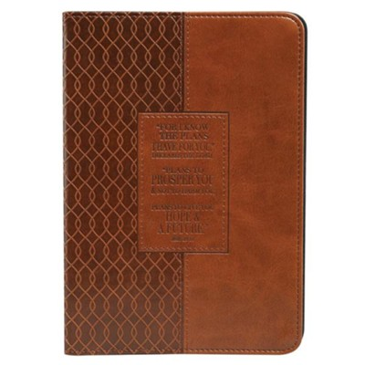 For I Know the Plans, iPad Mini Cover, Brown  -