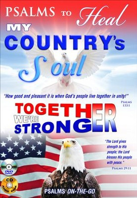 Psalms to Heal My Country's Soul: DVD & CD  -     By: David & The High Spirit