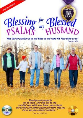 Blessing Psalms for My Blessed Husband (Couple on Cover): DVD & CD  -     By: David & The High Spirit