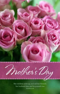 Call Her Blessed (Proverbs 31:28) Mother's Day Bulletins, 100  -
