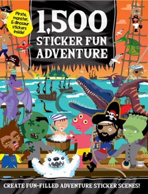1,500 Sticker Fun Adventure  -     By: Oakley Graham & Dan Crisp