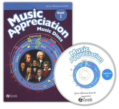 Music Appreciation: Book 1 for Elementary Grades, Music Discs (5 Audio CDs)  -