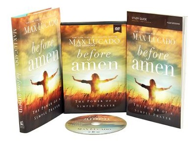 Before Amen: The Power of Simple Prayer (Church Campaign Kit)  -     By: Max Lucado
