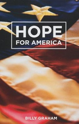 Hope for America (ESV), Pack of 25 Tracts   -     By: Billy Graham