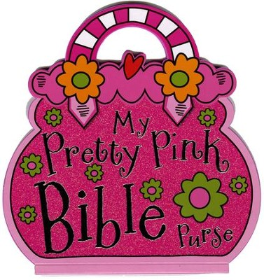 My Pretty Pink Bible Purse  -