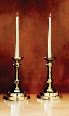 Filigree Altar Candlesticks, set of 2   -