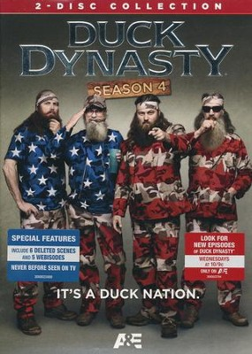 Duck Dynasty: Season 4, DVD    -