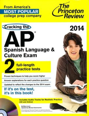 Cracking the AP Spanish Exam with Audio CD, 2013 Edition  -     By: Princeton Review