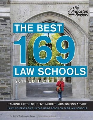 The Best 168 Law Schools, 2014 Edition  -     By: Princeton Review