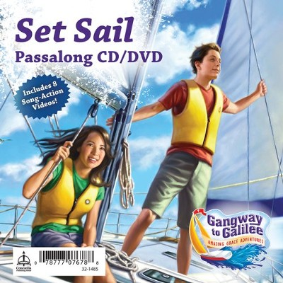 Set Sail Passalong CD/DVD  -