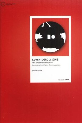 Seven Deadly Sins, DVD + Book: Lessons for Faith Communities  -     By: Dan Boone