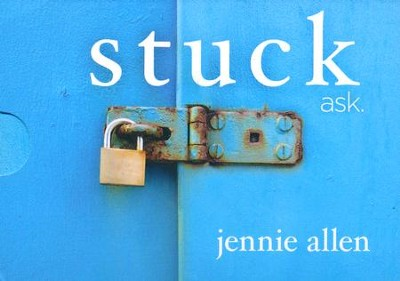 Stuck: ask, Discussion Card Set (A DVD-Based Study)  -     By: Jennie Allen