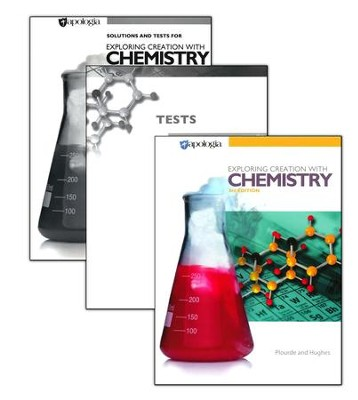 Exploring Creation with Chemistry Basic Set (3rd Edition)   -     By: Kristy Plourde