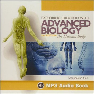Advanced Biology: The Human Body, 2nd Edition MP3 Audio CD   -
