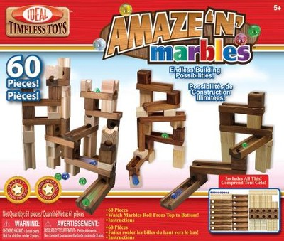 Amazing Marbles 60 Pc Set   -